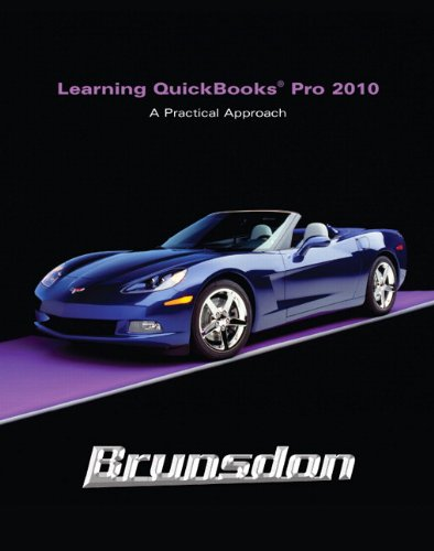Learning Quickbooks 2010  4th 2011 9780132166584 Front Cover