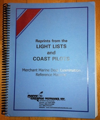 REPRINTS FROM LIGHT LISTS+COAS N/A edition cover