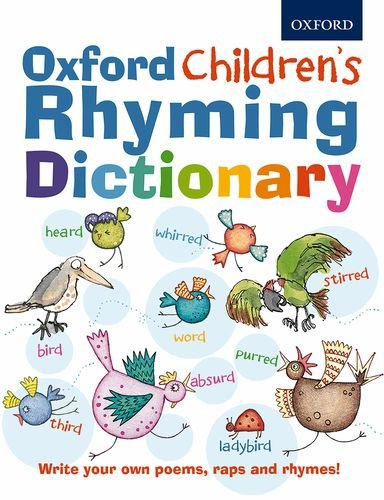 Oxford Children's Rhyming Dictionary   2014 edition cover