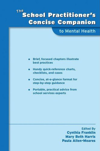 School Practitioner's Concise Companion to Mental Health   2009 9780195370584 Front Cover