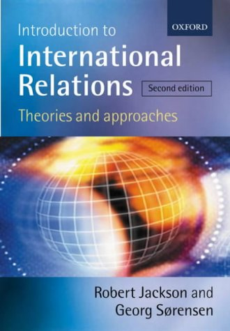 Introduction to International Relations Theories and Approaches 2nd 2003 (Revised) 9780199260584 Front Cover