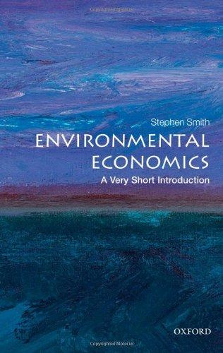 Environmental Economics   2011 edition cover