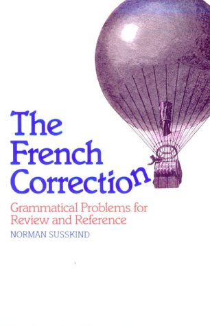 French Correction Grammatical Problems for Review and Reference  1984 edition cover