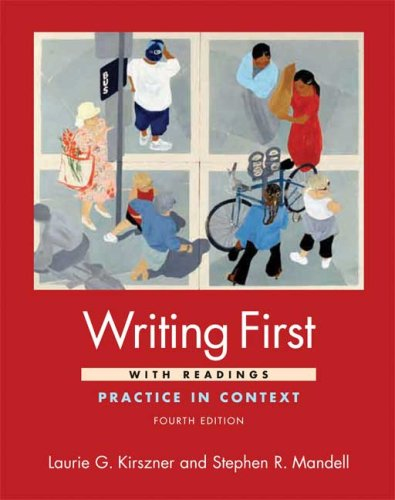 Writing First with Readings Practice in Context 4th edition cover