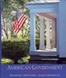 American Government Politics and Political Culture  1995 9780314045584 Front Cover