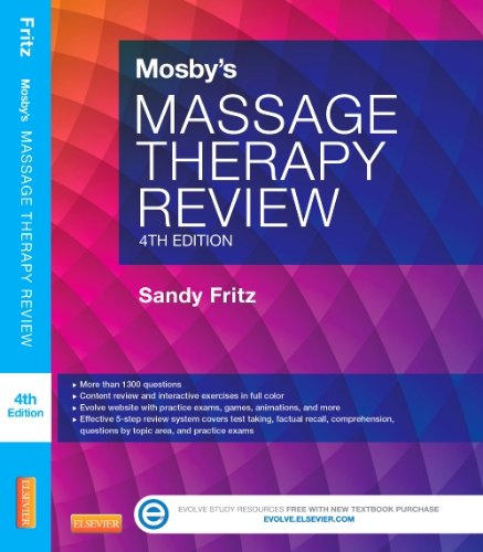 Mosby's Massage Therapy Review  4th 2014 edition cover