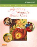 Study Guide for Maternity and Women's Health Care  11th edition cover