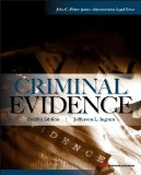 Criminal Evidence:   2014 edition cover