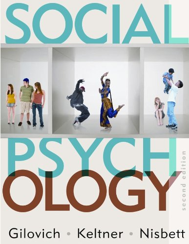 Social Psychology  2nd 2010 edition cover