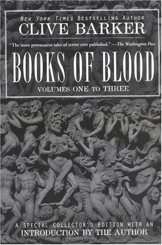 Clive Barker's Books of Blood 1-3  Reprint  edition cover