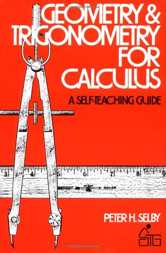 Geometry and Trigonometry for Calculus  1st 1975 edition cover