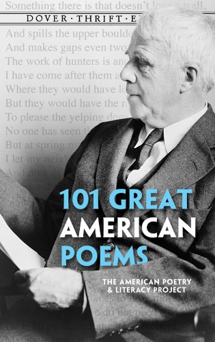 101 Great American Poems  N/A 9780486401584 Front Cover