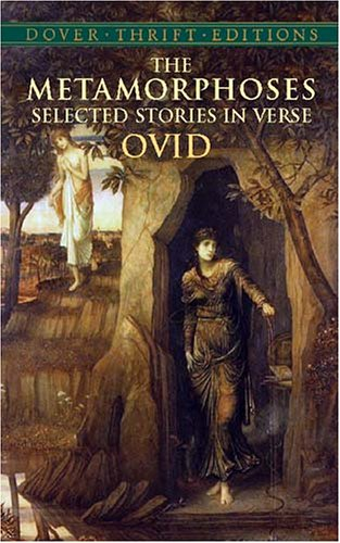 Metamorphoses Selected Stories in Verse  2003 edition cover