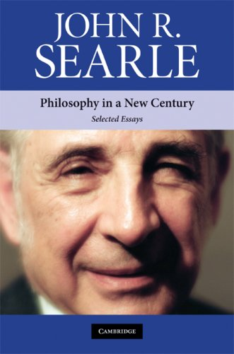 Philosophy in a New Century Selected Essays  2008 9780521731584 Front Cover
