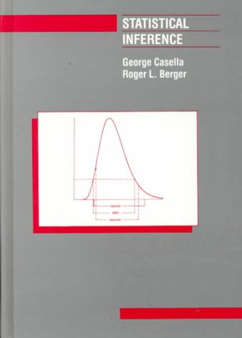 Statistical Inference  1st edition cover