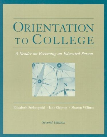 Orientation to College  2nd 2004 (Revised) 9780534599584 Front Cover