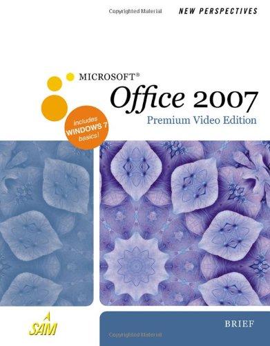 Microsoft Office 2007 Premium Video Edition, Brief  2011 9780538476584 Front Cover