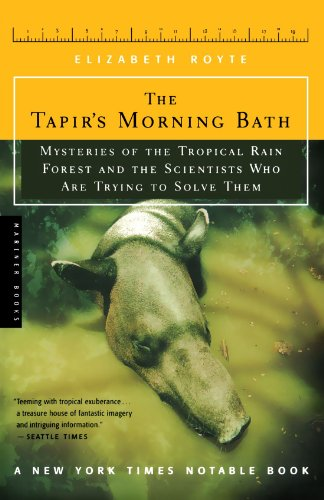 Tapir's Morning Bath Solving the Mysteries of the Tropical Rain Forest  2001 edition cover