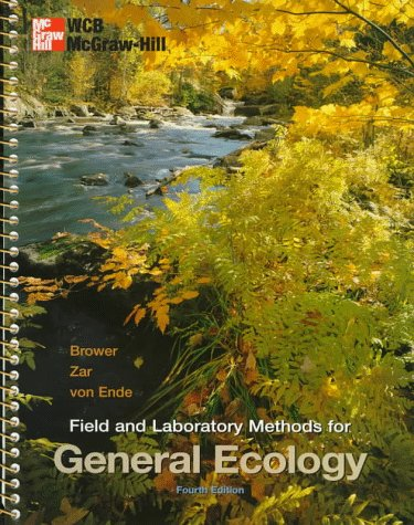 Field and Laboratory Methods for General Ecology  4th 1998 (Revised) edition cover