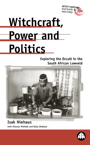 Witchcraft, Power and Politics Exploring the Occult in the South African Lowveld  2001 9780745315584 Front Cover
