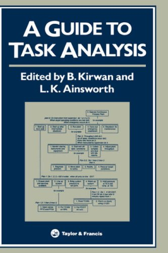 Guide to Task Analysis   1992 9780748400584 Front Cover