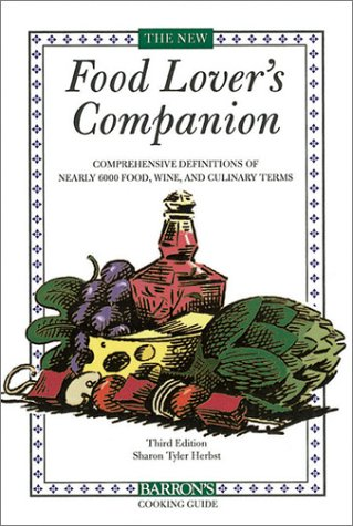 New Food Lover's Companion  3rd 2001 edition cover