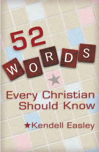 52 Words Every Christian Should Know  N/A edition cover