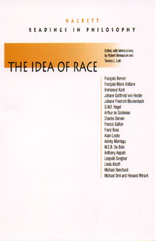Idea of Race   2000 edition cover