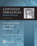 Certified Paralegal Review Manual: A Practical Guide to CP Exam Preparation  2013 edition cover