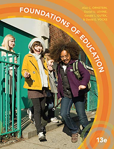 Foundations of Education:   2016 edition cover