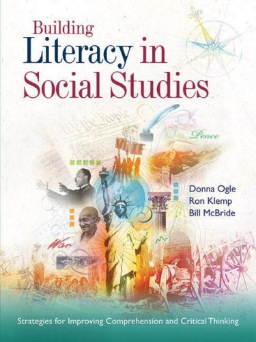 Building Literacy in Social Studies Strategies for Improving Comprehension and Critical Thinking  2007 edition cover