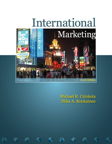 International Marketing  9th 2010 edition cover