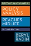 Beyond Machiavelli Policy Analysis Reaches Midlife 2nd 2013 (Revised) edition cover