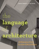 Language of Architecture 26 Principles Every Architect Should Know  2014 edition cover