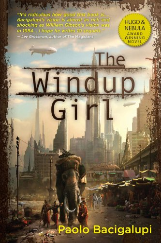 Windup Girl   2010 edition cover