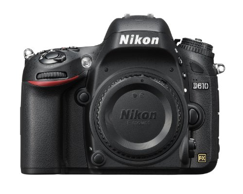 Nikon D610 24.3 MP CMOS FX-Format Digital SLR Camera (Body Only) product image