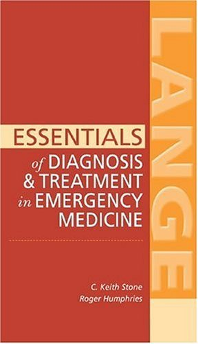 Essentials of Diagnosis and Treatment in Emergency Medicine   2005 9780071440585 Front Cover