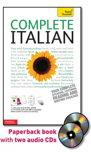 Complete Italian Your Complete Speaking, Listening, Reading and Writing Package 5th 2010 edition cover