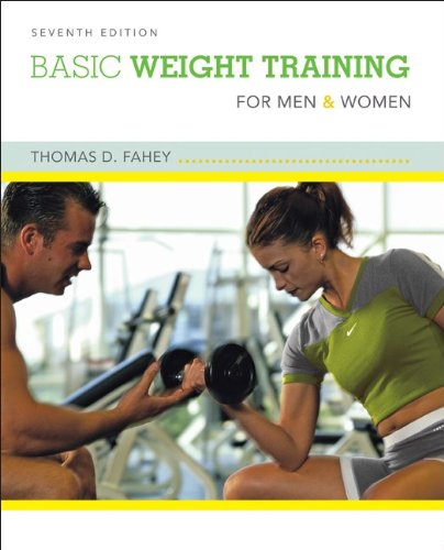Basic Weight Training for Men and Women  7th 2010 edition cover