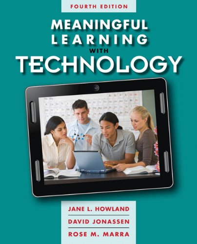 Meaningful Learning with Technology  4th 2012 edition cover