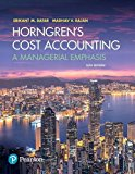Horngren's Cost Accounting:   2017 9780134475585 Front Cover