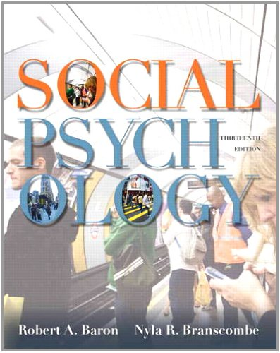 Social Psychology  13th 2012 (Revised) edition cover