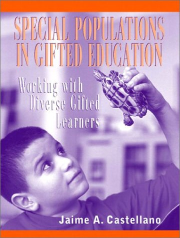 Special Populations in Gifted Education Working with Diverse Gifted Learners  2003 edition cover