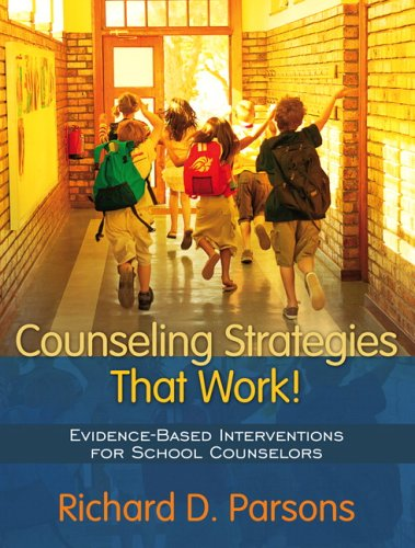 Counseling Strategies That Work! Evidence-Based Interventions for School Counselors  2007 edition cover