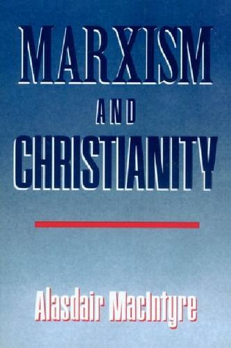 Marxism and Christianity  Reprint 9780268013585 Front Cover