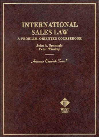 International Sales Law, a Problems-Oriented Coursebook   2000 edition cover