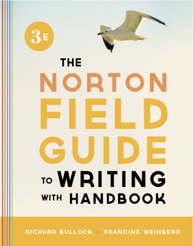 Norton Field Guide to Writing with Handbook  3rd 9780393919585 Front Cover