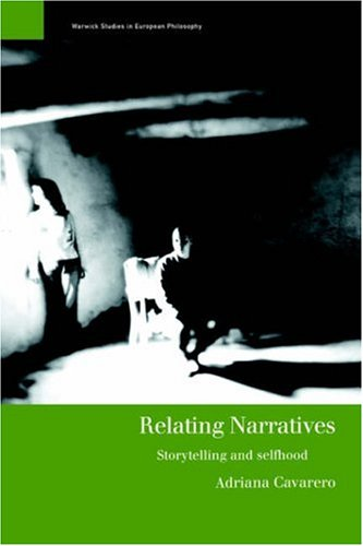 Relating Narratives Storytelling and Selfhood  2000 edition cover