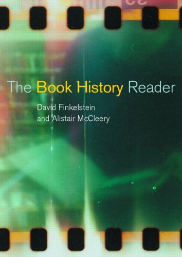 Book History Reader   2001 9780415226585 Front Cover