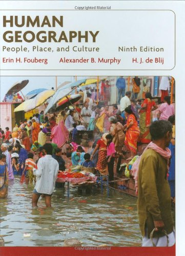 Human Geography People, Place, and Culture 9th 2010 edition cover